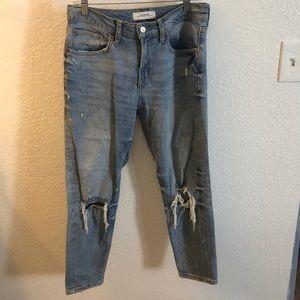 Boyfriend slim ankle jeans